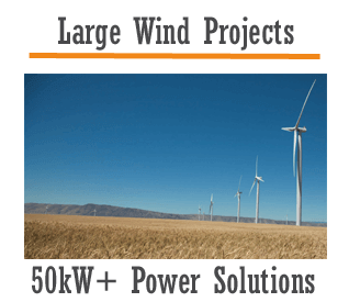 large wind power projects