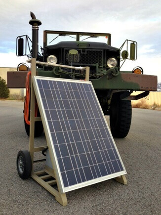 intermountain wind and solar mobile solar power