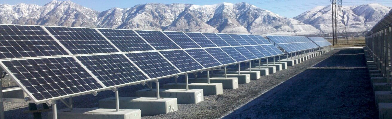 solar power panels project Utah