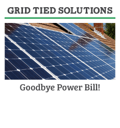 grid tied solar system