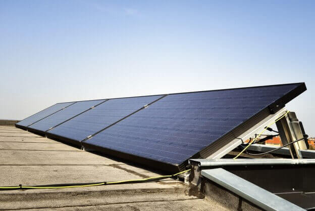 Solar Panel Power Grid