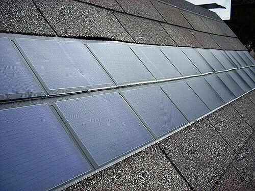 Solar Shingles Are Less Efficient Than Photovoltaic Panels