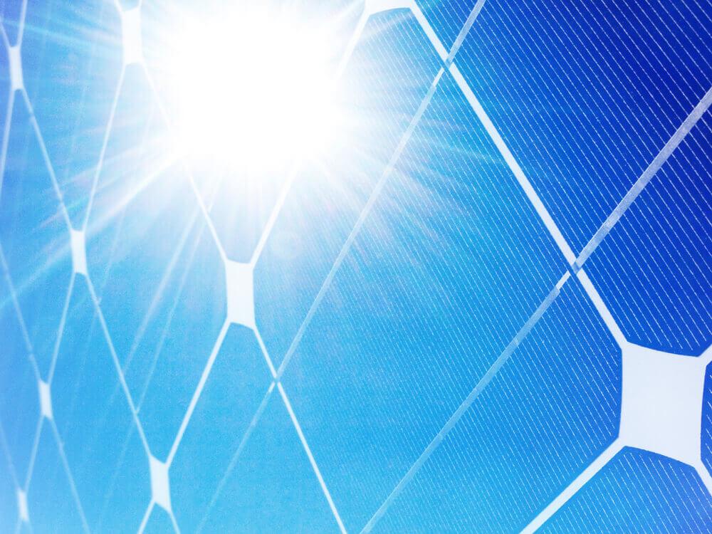 Solar panel glare