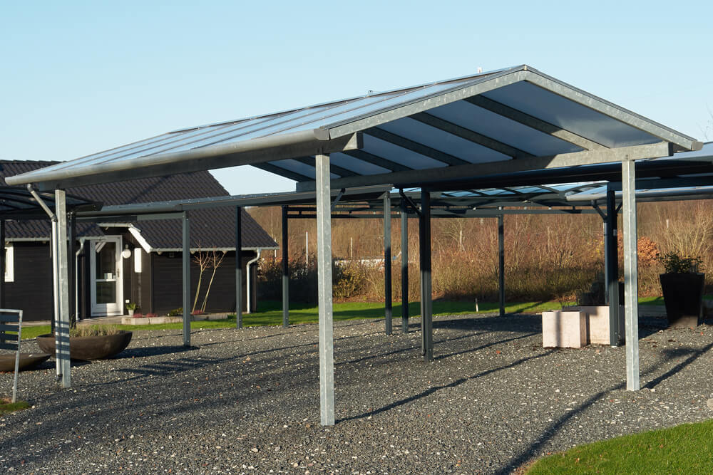 what is a solar carport and should you install one intermountain wind solar. Black Bedroom Furniture Sets. Home Design Ideas