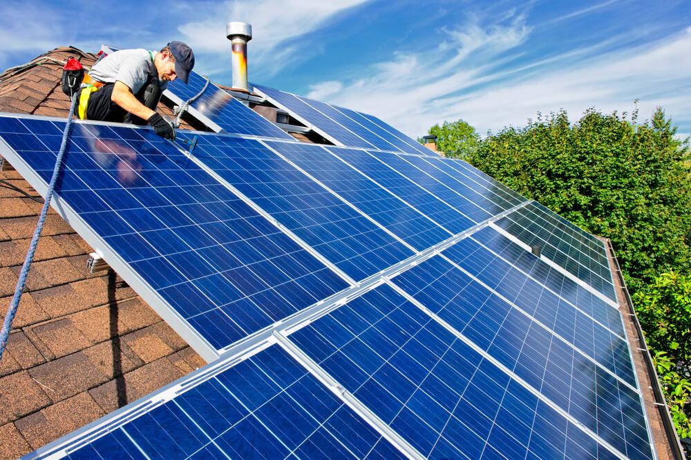 Solar array rooftop