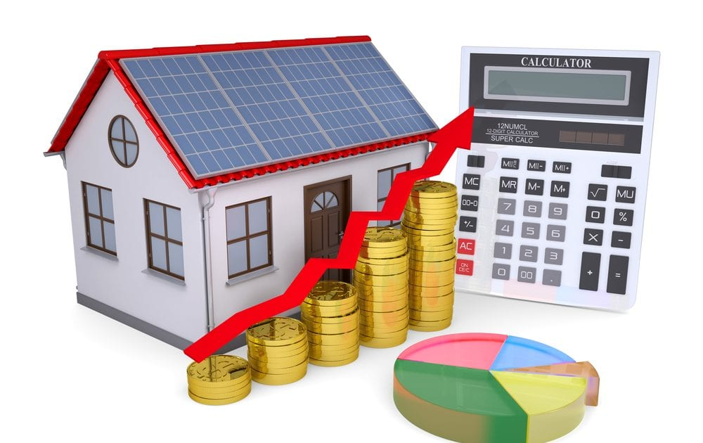 Owning your solar panel system can increase home value