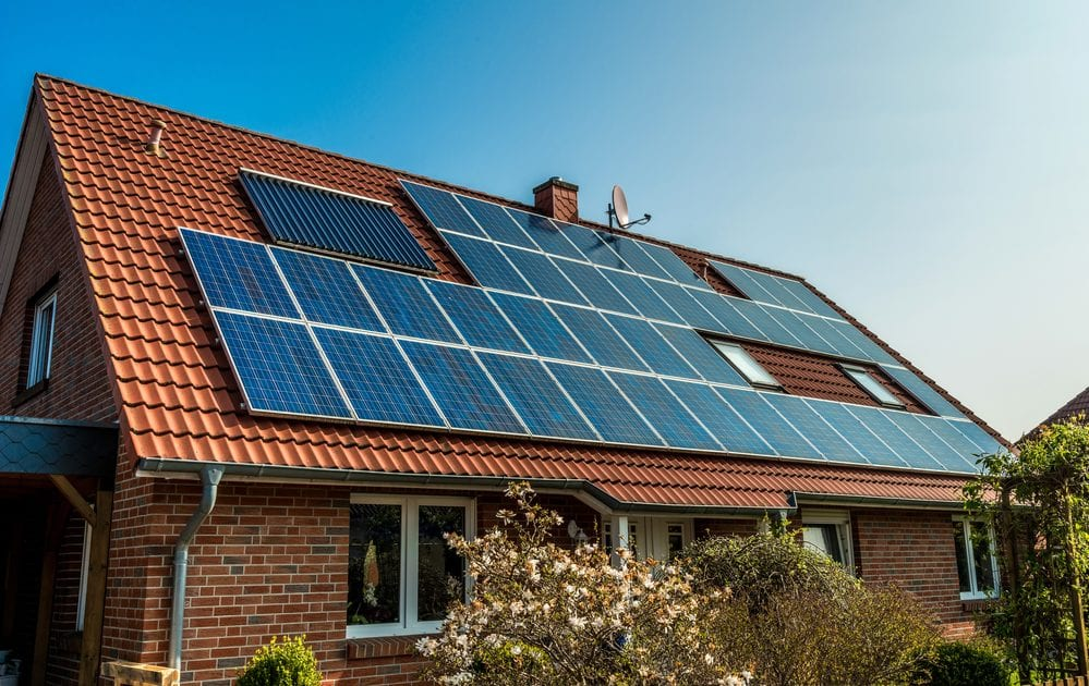 Solar panels and the potential for roof leaks