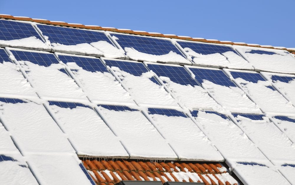Clearing up some common misconceptions about solar power in the winter months.