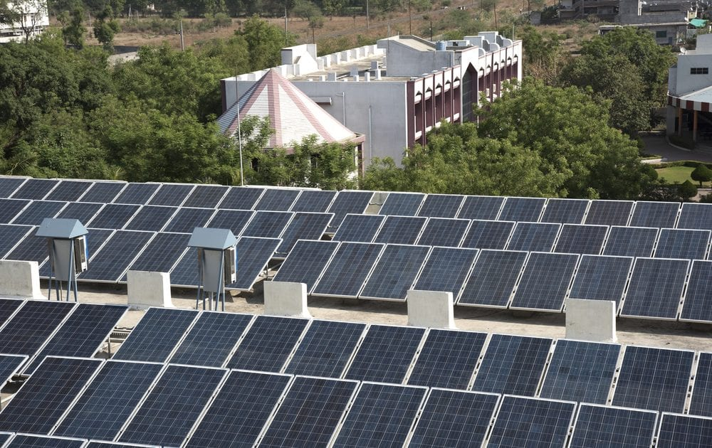 Solar energy isn't just for residential homes; commercial buildings can also benefit from it.