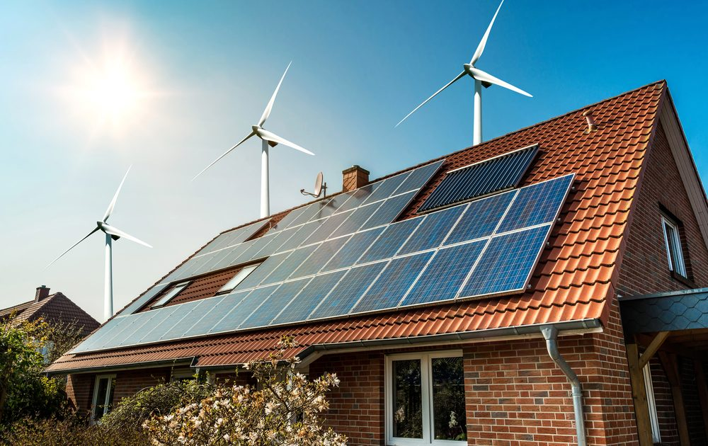 There are several types of renewable energy to consider if you want to lower your footprint.