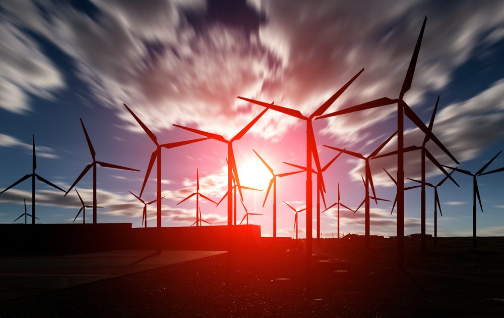 Wind is a great source of renewable energy and businesses can take advantage of it.